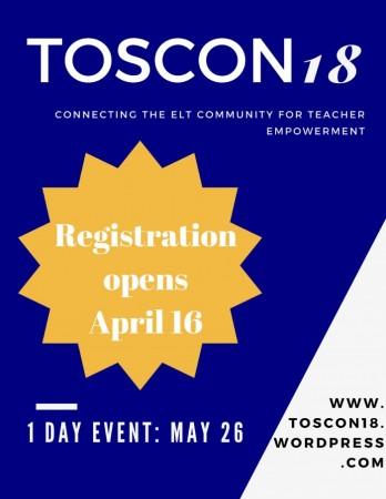 TOSCON18 Registration