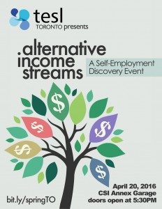 Alternative Income Streams ESL